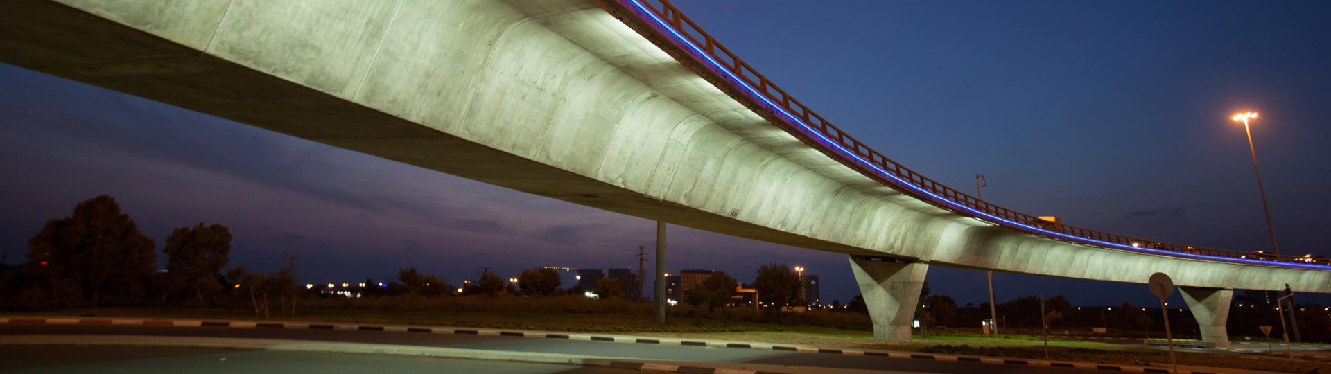 The Glilot Bridge, Tel Aviv